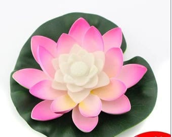LED Floating Water Lily Lotus Lights Color-changing Pool Decoration Centerpieces 1 Piece