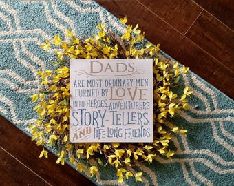 Wood Sign | Dad's Wood Sign | Fathers Day gift | Gift for Dad