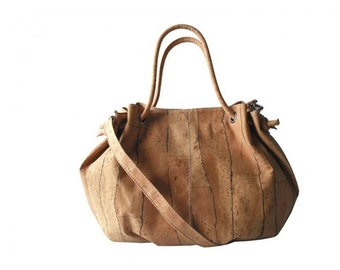 Pure Cork Women HandBag - FREE SHIPPING WORLDWIDE -  Vegan Eco-Friendly Mothers Day Gift Idea