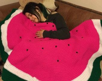 Watermelon Fruit Blanket/Bed Throw