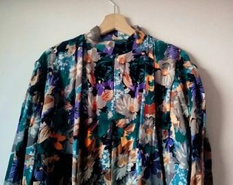 SALE Vintage silk tunic