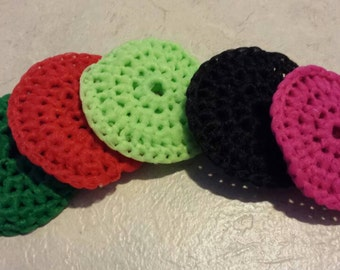 Set of 5 Double Scrubbies