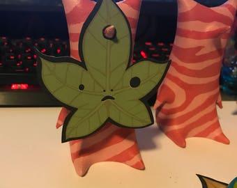 3D Printed Hand Painted Korok. Ya-ha-ha! - Magenta