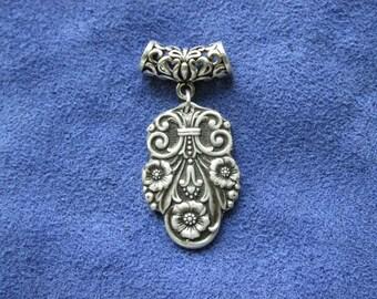 Precious Spoon Pendant, Necklace Pendant, Silver Pendant, Spoon Jewelry, Silverware Jewelry, Silverspoon, Spoon Pendant, (Item P0216)