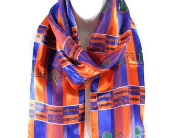 FloridaGators,OfficialNCAALicensedStripeSatinScarf,148103