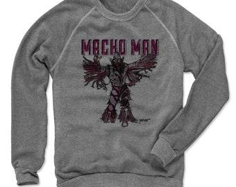 Macho Man Pro Wrestling Officially Licensed Crew Sweatshirt S-2XL Randy Savage Sketch P