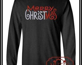 Merry CHRISTmas Long Sleeve