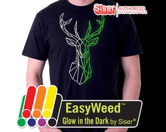 "12""x 19.5"" EasyWeed Glow In The Dark - Heat Transfer Vinyl - HTV"