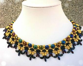 Photo tutorial,PDF,necklace