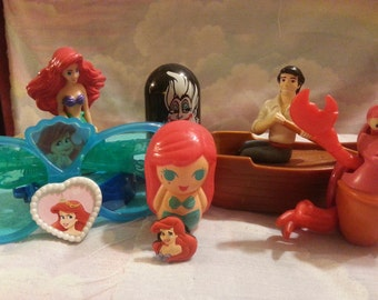 VTG LITTLE MERMAID 6-pack!!! Comes With 2 Freebies!!