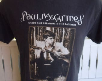 Size M (44) ** Paul McCartney Concert Shirt (Double Sided) (Giant Label)