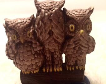 Owl See No Evil Etsy