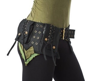 Steampunk Utility belt,Festival Pocket Belt,Psy Trance,Gypsy,Fanny Pack,Hip Belt,Hip Bag,Burning Man,Fits IPHONE 7PLUS SAMSUNG GALAXY S7H