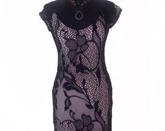 Tango Lace Dress | Evening Lace Dress | Elegant Milonga Dress | Elegant Tango Clothes