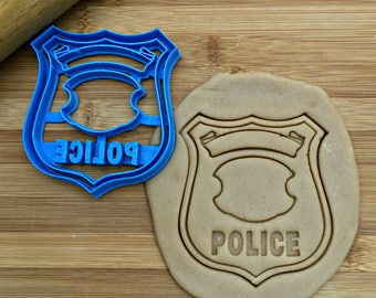 Police Badge Cookie Cutter/Multi-Size