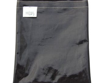 Sandwich Bag Reusable Food Grade /Food Pouch Sleek Black Ink