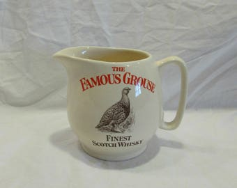 Pitcher, The Fomous Grouse, Finest Scotch Whiskey, England