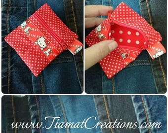 Wallet - Hello kitty - Red