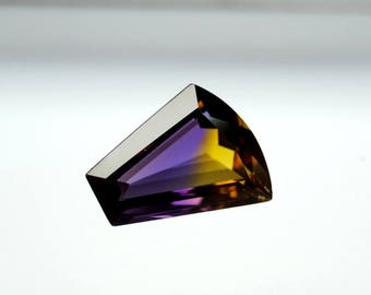 50% OFF Ametrine Gemstone Faceted Ametrine Stone - Bio Colors Gemstone - Ametrine  Fancy Cut Gemstone 18x15x8 mm