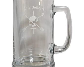 Special Forces Nous Defions Beer Mug - FREE SHIPPING