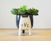 Made to order: Extra Large Three-legged Cat Planter
