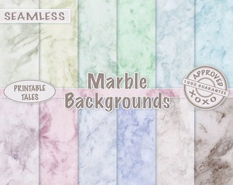 Marble Digital Paper, Stock Photography, Scrapbook background, Alabaster Paper Pack, Seamless Stone Texture, Pastel Colored Marble, beige