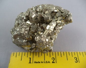 Large 2 3/4 Inch Pyrite Cluster