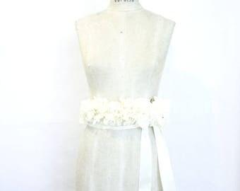 Preserved hydrangeas wedding belt