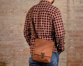 vintage leather bag, leather bag, man leather bag, leather messenger bag, mens leather satchel, leather shoulder bag, man crossbody bag