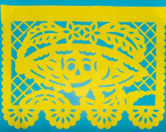 Papel Picado. Traditional Day of the Dead Craft.