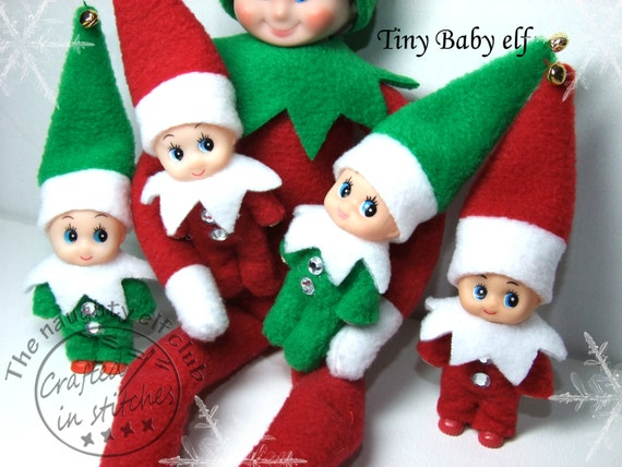 Tiny Baby Shelf Elf Miniature Elf Doll By Craftedinstitches