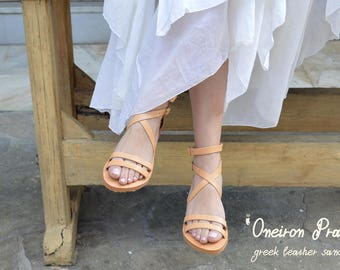 Luxury Sandals,Open Toe Greek Leather Sandals,Ancient Greek Sandals, Leather Sandals,Greek sandals,Mythology inspired Sandals,Thong Sandals