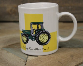 Gibson John Deere Tractor Coffee Mug