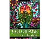 Clutch #9-10 designs - relaxation coloring - love, inseparable, swans, Mermaid, seahorse, Taj Mahal, Mandala