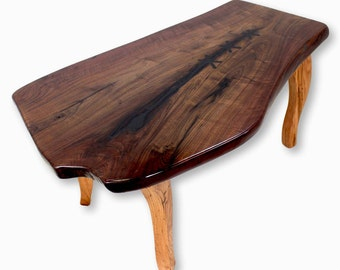 Slab coffee table Etsy