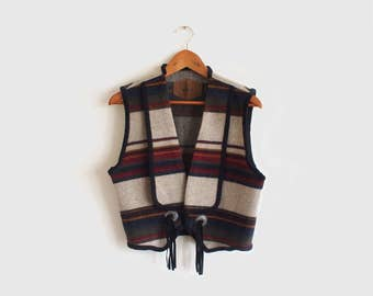 vintage Woolrich western vest
