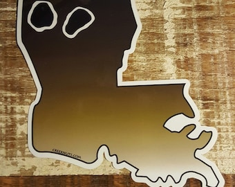 Louisiana Redfish Sticker Decal
