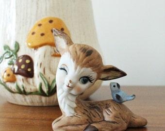 Vintage Ceramic Deer Figurine