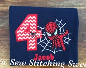 Spiderman Birthday Shirt, Superhero Birthday Shirt. Spidernan, Spider Man, Birthday shirt, Spiderman Birthdat
