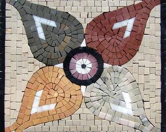 Multi-Colored Flower Mosaic - Gardenia