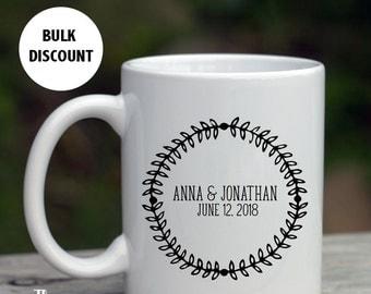 Wedding favor mug etsy for High end coffee mugs