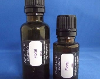 Floral Fragrance Oil Naked Earth Essentials 15-30 ML