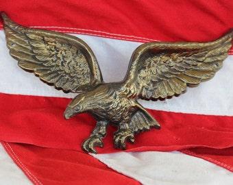 Metal Eagle wall plaque, Wall Decoration Eagle, American Eagle wall hanger
