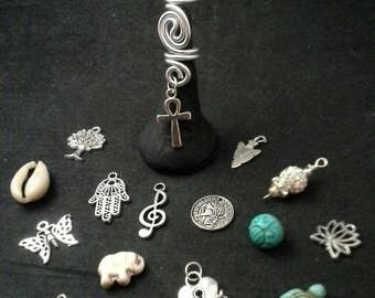 Choose Your Charm Loc Jewelry, Hair Jewelry, Dreadlock Cuff, Dreadlock Beads, Dread Coil, Dreadlock Jewelry, Loc Beads, Braid Beads, Cuff