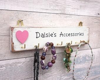 Jewellery Hanger/Jewelry Hanger/Jewellery Hooks/Jewlry Hooks/Accessories Hooks/Accessory Organizer/Personalised Hooks/Jewellery Rack