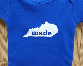 Kentucky Made Baby Onesie Creeper - Any state available!
