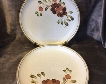 Vintage Serenade By Denby dinner plate set