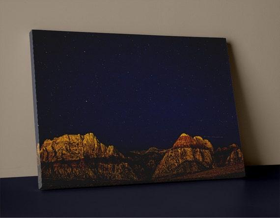 Starlite Sky Over Mountains
