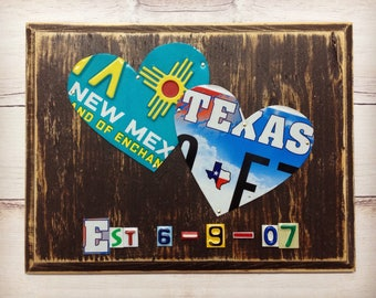 Custom License Plate Art 10 Year Anniversary By