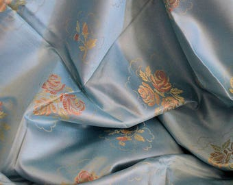 French Vintage Ticking ,Blue Ticking , hold Damask Ticking, Roses, Pillows , large  width, Upholstery,